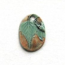 Pendant Young Birch Leaves